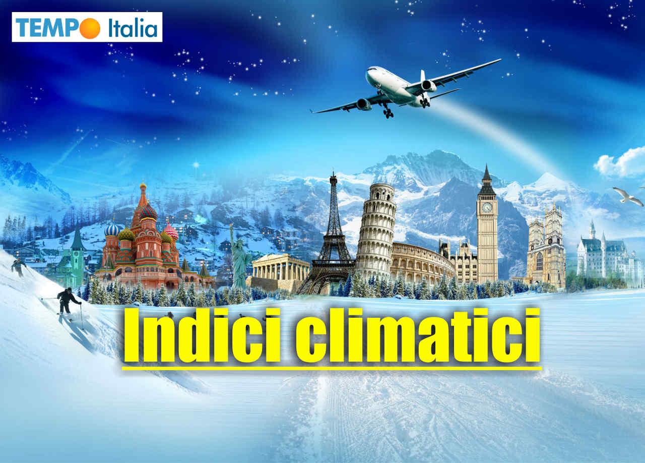 Gli indici climatici indirizzati verso il gran freddo invernale.