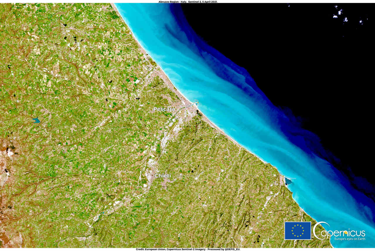Abruzzo, gli effetti della siccità.